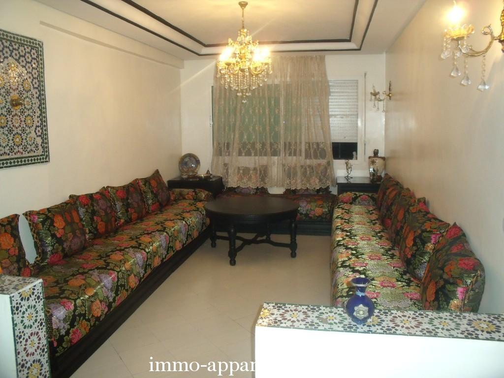 salon location appartement meubl kenitra. Black Bedroom Furniture Sets. Home Design Ideas