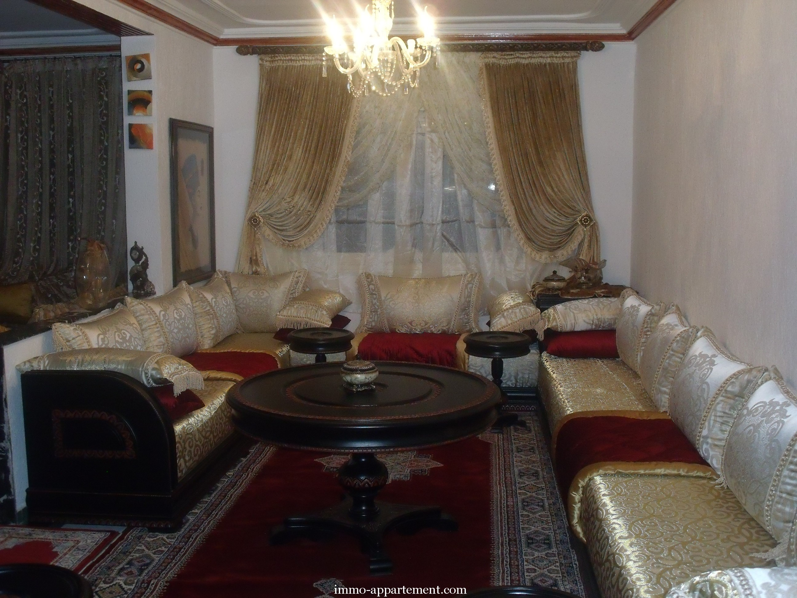 Articles immobiliers de kenitra et sa r gionl immo appartement for Photos de salons marocains