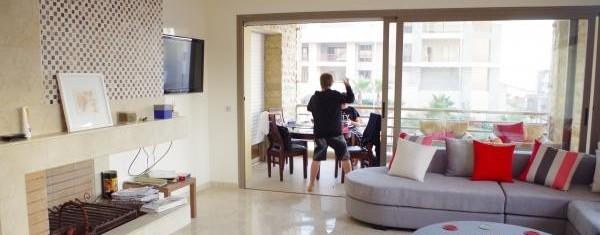 Appartement meublé plage des nations