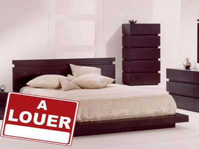 location appartement meubl. Black Bedroom Furniture Sets. Home Design Ideas